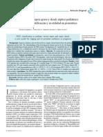 Clasificación PIRO en sepsis grave y shock séptico pediátrico Daniela Arriagada, Franco Diaz, Alejandro Donoso, Pablo Cruces
