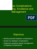 Diabetes Complications Avoidance and Management