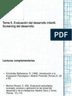 Tema 5. Screening Del Desarrollo Imprimir