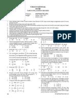 UN Matematika SD 2011-2012