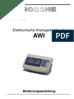 BOSCHE AWI ASP Service Manual_de