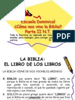 COMO NOS VINO LA BIBLIA NUEVO TESTAMENTO3 RECORTADO SOLO AT.ppt