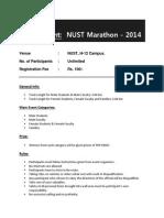 Proposal for Event - Merathon