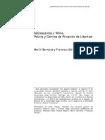 BERNALES & ESTRADA Adolescentes y niños, policía y centros privativos de libert