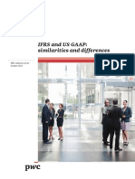 PWC on IFRS and US GAAP Similarities and Differences 2013