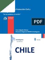 Planificacion Proteccion Civil Emergencia ONEMI Irina Salgado