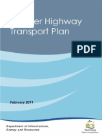 Brooker Highway Transport Plan