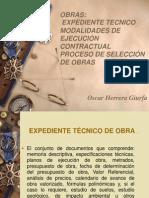Diapositivas - Expedientes Tecnicos