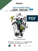 Programa Completo del I Congreso Internacional Ciudades Creativas