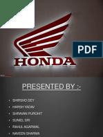 Honda HRM