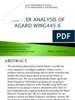 Wing Flutter Analysis2