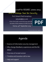 Preparing Yourself For ISO IEC 27001:2013