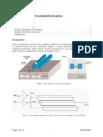 An-Crosstalk Evaluation Using Microwind