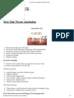 Ilmu Gigi Tiruan Jembatan _ DENTIST's NOTE