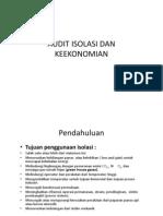 Otk Audit Isolasi Dan Keekonomian