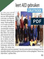Artikel Hbvl 11-03-2014 Landelijke Gilde Gruitrode volgt AED opleiding