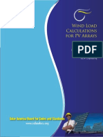 Wind Load Calculation for PV Arrays