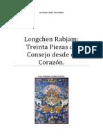 Longchen Rabjam Treinta Piezas de Consejo