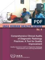 Comprehensive Clinical Audits of Diagnostic Radiology Practices a Tool for Quality Improvement