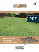 Easy Park - Protective grid for already established lawns