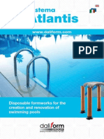Atlantis System -  Disposable formworks for the creation and renovation of swimming pools