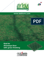 Erby Salvaprato Grid for driveways floor with grass finishing