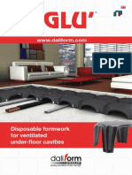 Iglu'® - Disposable formwork for ventilated under-floor cavities