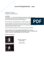 Intricate Treatment of Endophtalmitis