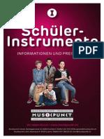 Musikpunkt Schuelerinstrumente