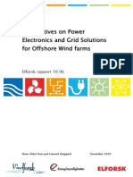 Perspectives on Power Electronics and Grid Solutions for Offshore Wind Farms