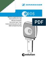 Mikrofon - Sennheiser - e906