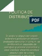 Capitolul 6 Politica de Distributie