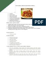 Resep Masakan CUMI
