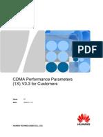 CDMA Performance Parameters (1X) V3.3 for Customers