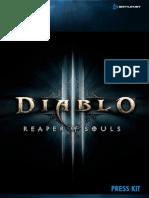 Diablo III Press Kit Comp