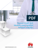 Huawei One Net Small- And Medium-Sized Hospital Network Solution