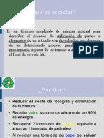presentación básica reciclaje 3.3.7