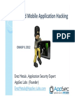 Attacking Android Applications