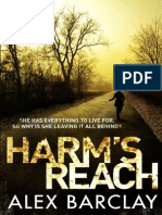 Harm's Reach, by Alex Barclay - Extract