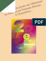 Festival du premier roman de Chambéry (Mai 2012)