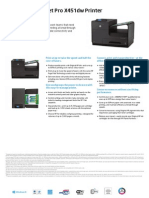 HP Officejet Pro X451dw A4 e-All-in-One Printer