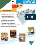 Daikin VRV III - Leaflet