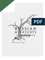 Russian Midnights by Alexandra Gyasi