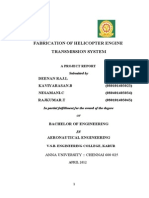 Fabrication of Helicopter Engine Transmission System