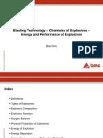 Blasting Technology - Chemistry of Explosives(3)