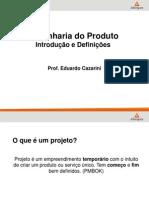 Engenharia do produto - 1 Introdução