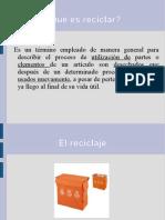 presentación básica reciclaje 6.2