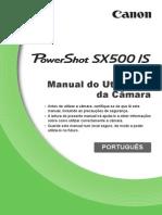DetonaShop Manual PowerShot SX500 is PT