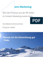 PR Im Content Marketing - SEO Campixx