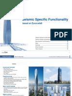 Seismic Specific Functionality in Midas Gen_Eurocode